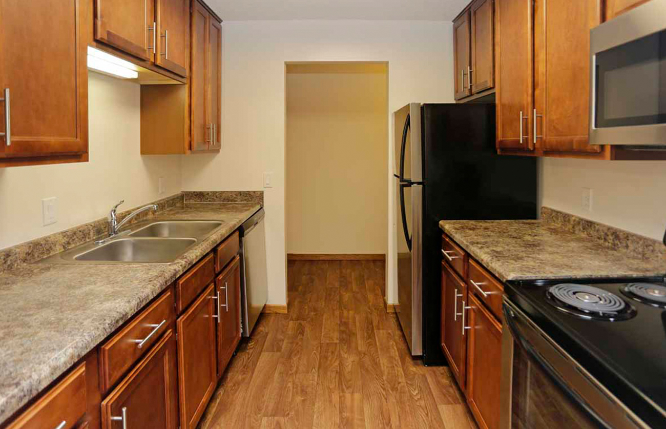The Oak (1 Bedroom): New cabinetry in select homes