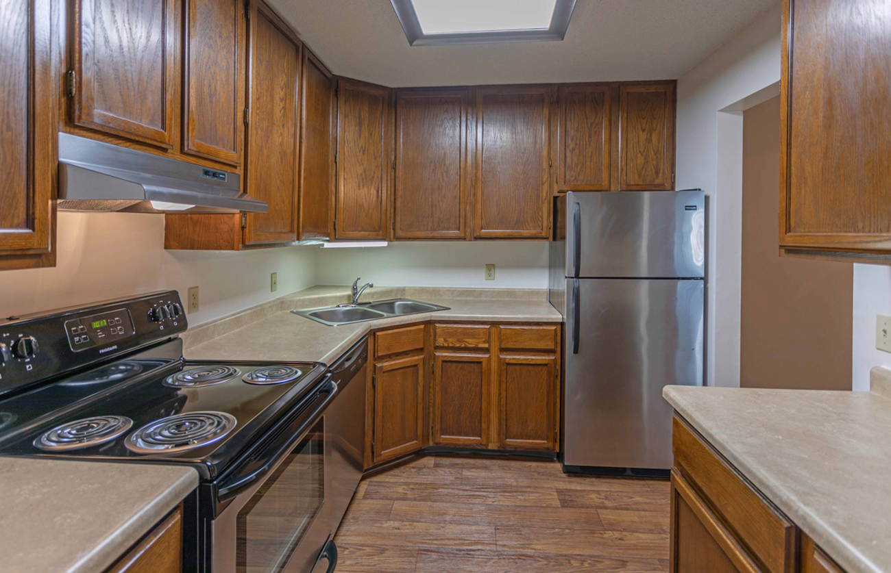 The Elm (2 bedroom): Stainless appliances in select homes