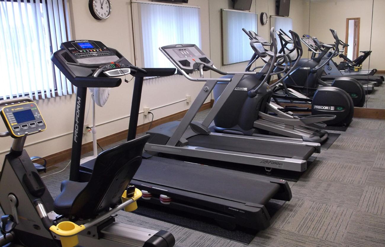 ...plus cardio machines!