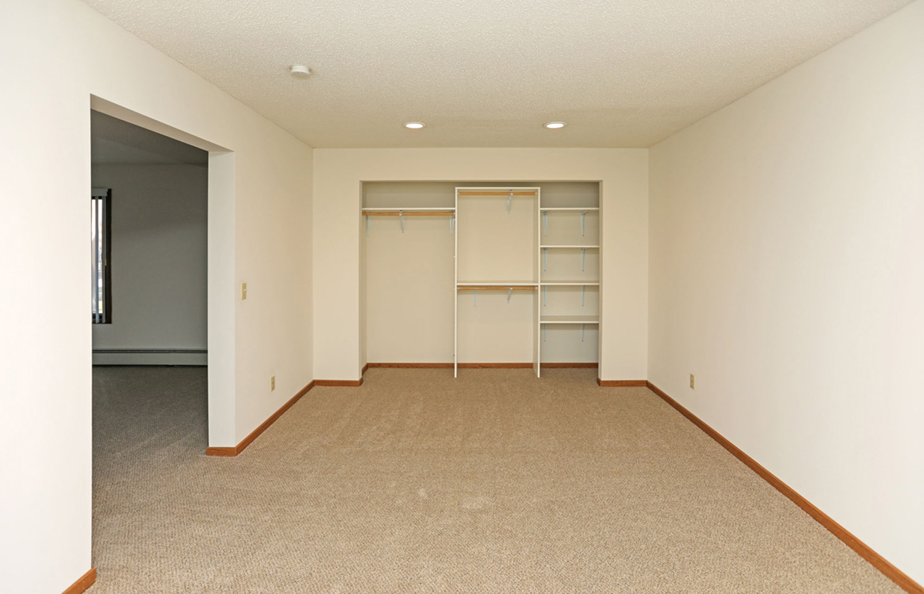 Den area available in select 1 Bedrooms