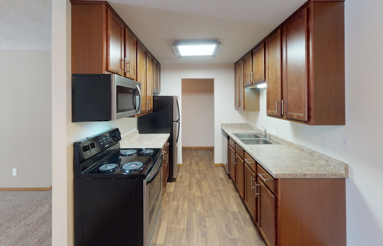 The Maple (2 Bedroom): New countertops in select homes